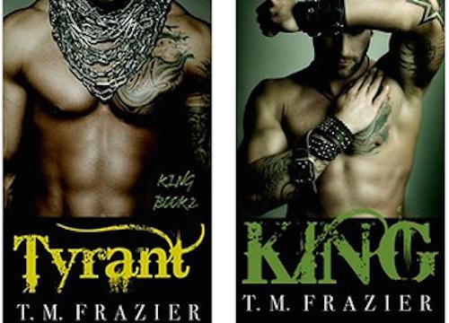 Resultado de imagen para Serie King. King 1 y Tyrant 2 de T.M Fraizer
